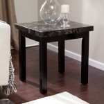End Tables With Marble Tops