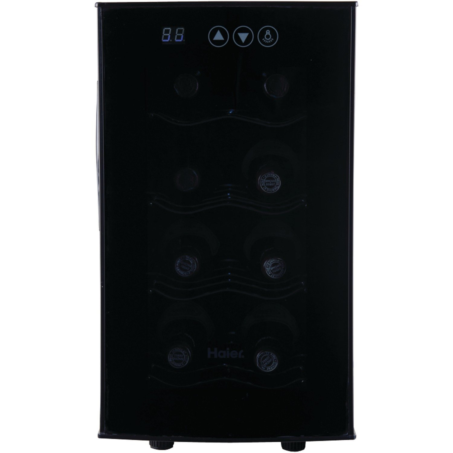 Haier 8 bottle wine cooler decor ideasdecor ideas for Decor wine cooler