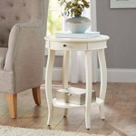 Ivory End Table