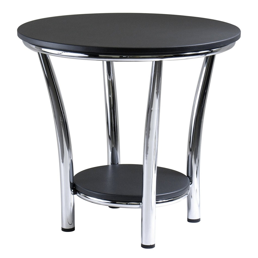 Large Round End Table
