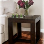 Large Square End Table