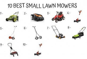 10 Best Small Lawn Mower