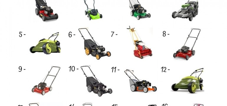 16 Best Gas Lawn Mower