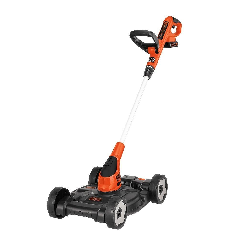 Black And Decker Cordless Lawn Mower