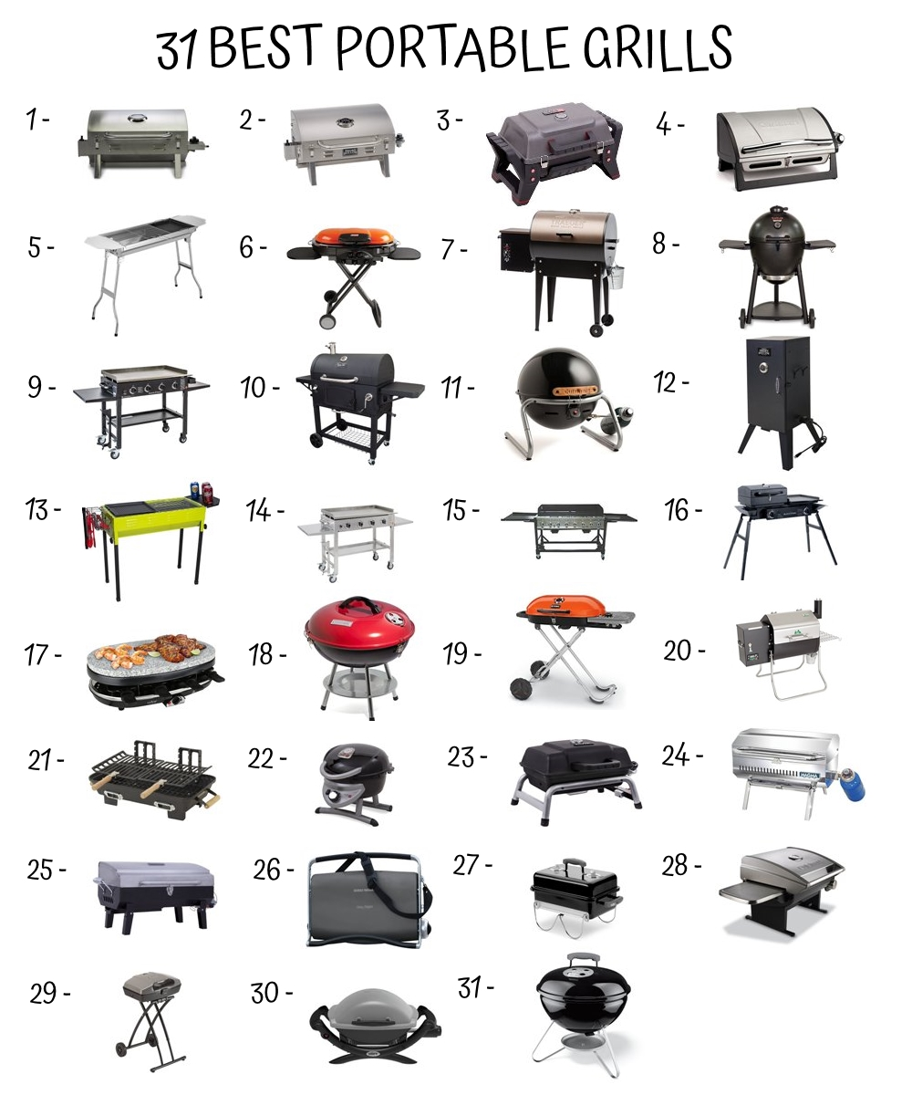 The 31 Best Portable Grill