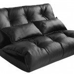 Black Leather Couch With Pillows
