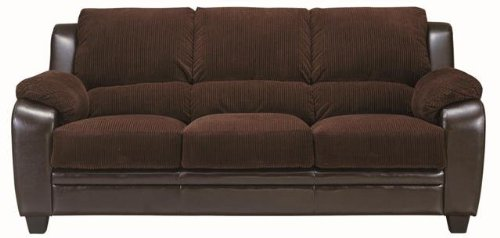 Chocolate Sectional Couch