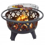 Outdoor Fire Pit Grill