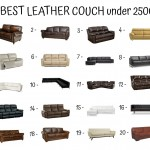 20 Best Leather Couch Under 2500$