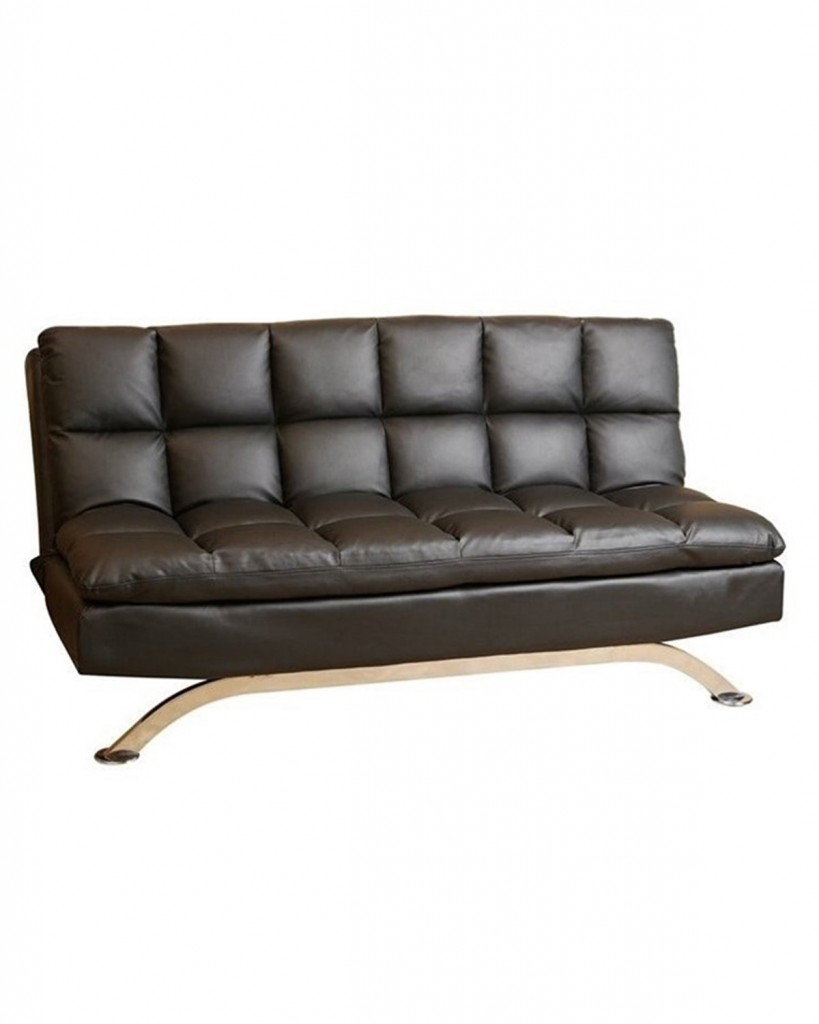 Abbyson Dylan Leather Lounger Sofa