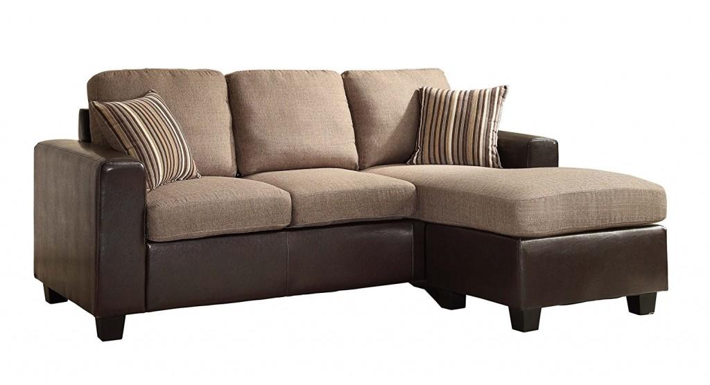 Homelegance 8401 3SC Reversible Sofa Chaise