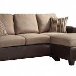 Homelegance 8401 3SC Reversible Sofa Chaise