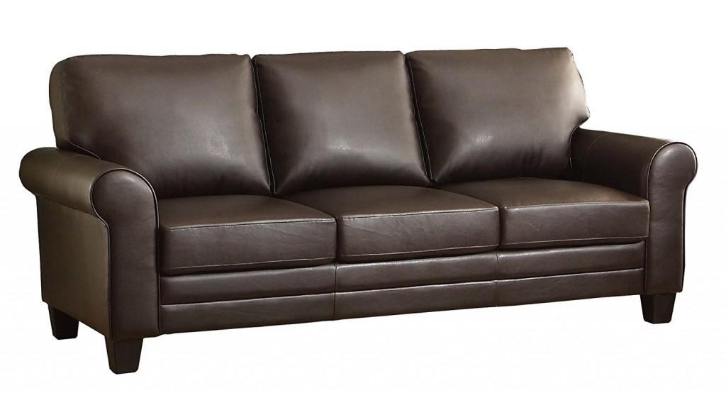 Homelegance 8579DB 3 Upholstered Sofa