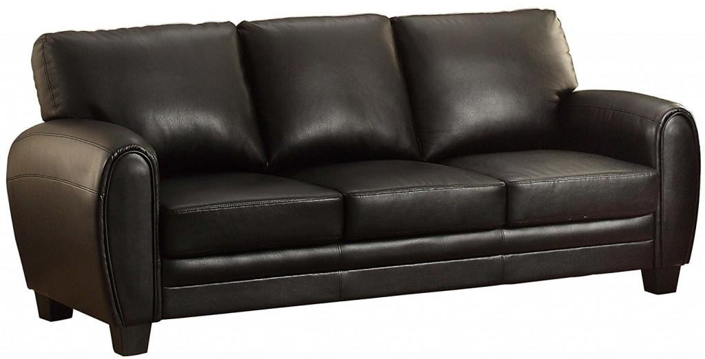 Homelegance 9734BK 3 Upholstered Sofa