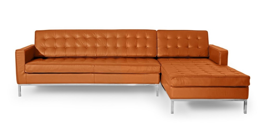 Kardiel Florence Knoll Style Right Sectional Sofa