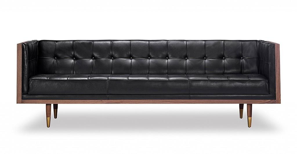 Kardiel Woodrow Midcentury Modern Box Sofa