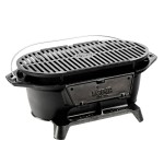 Cast Iron Hibachi Charcoal Grill