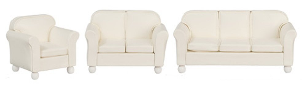 Cream Living Room Set