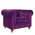 Purple Living Room Chairs