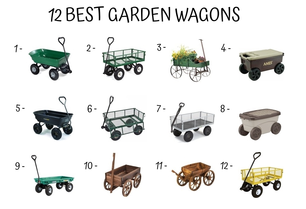 12 Best Garden Wagons