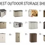 12 Best Outdoor Storage Sheds