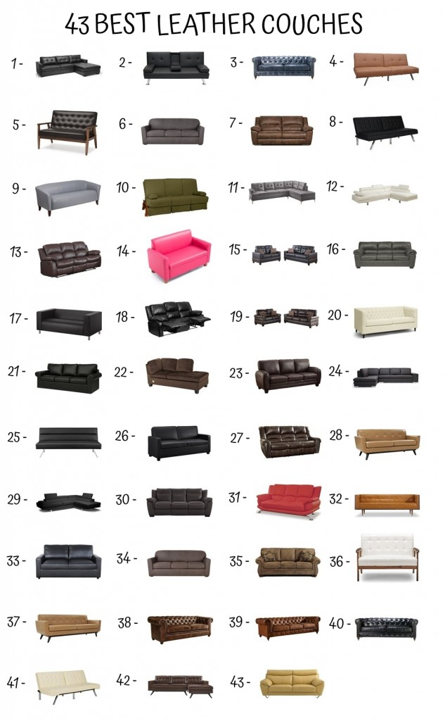 43 Best Leather Couch