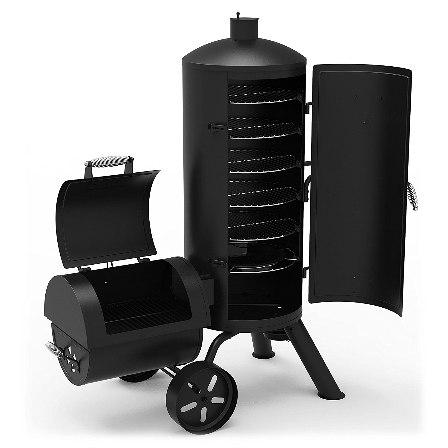 Dyna Glo Signature Series DGSS1382VCS D Heavy Duty  : Dyna Glo Signature Series DGSS1382VCS D Heavy Duty Vertical Offset Charcoal Smoker Grill from icanhasgif.com size 1500 x 1500 jpeg 173kB