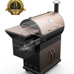 Z Grills Wood Pellet BBQ Grill And Smoker