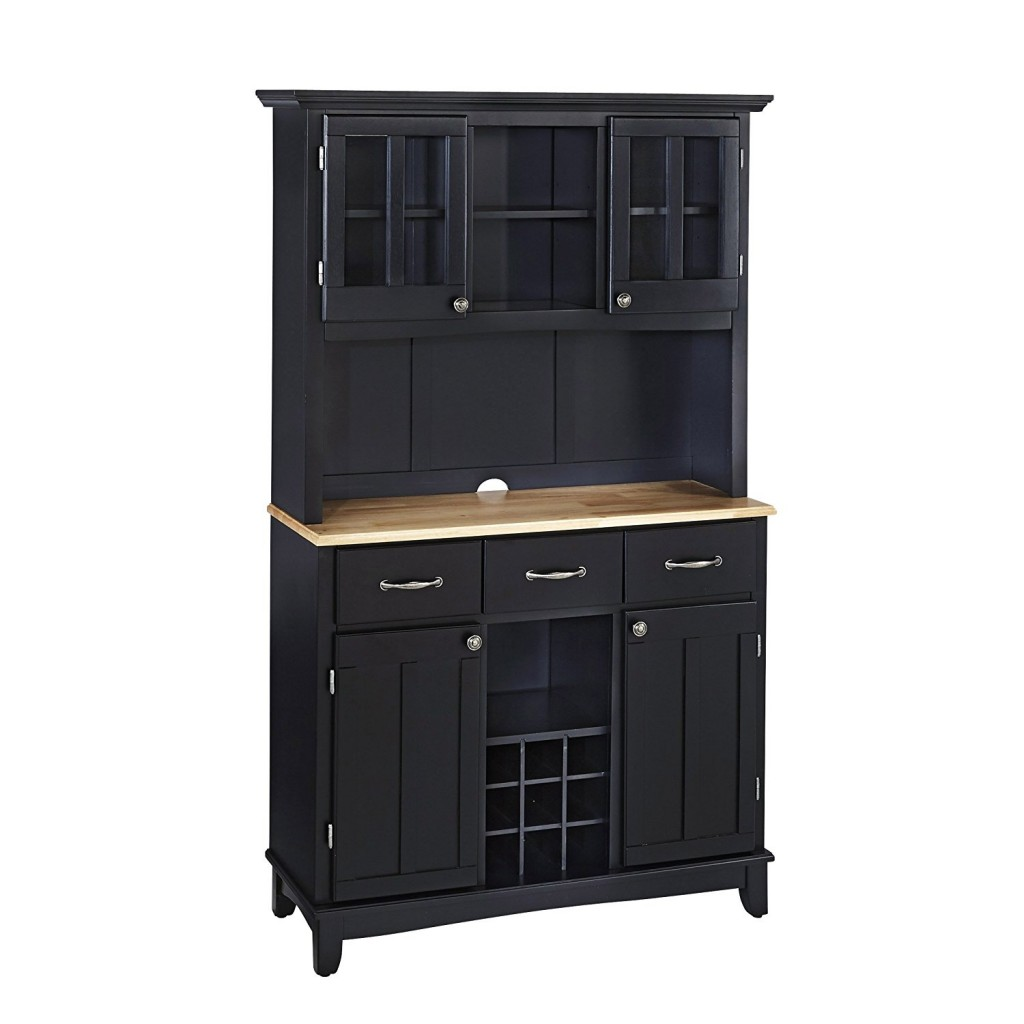 Black Kitchen Hutch
