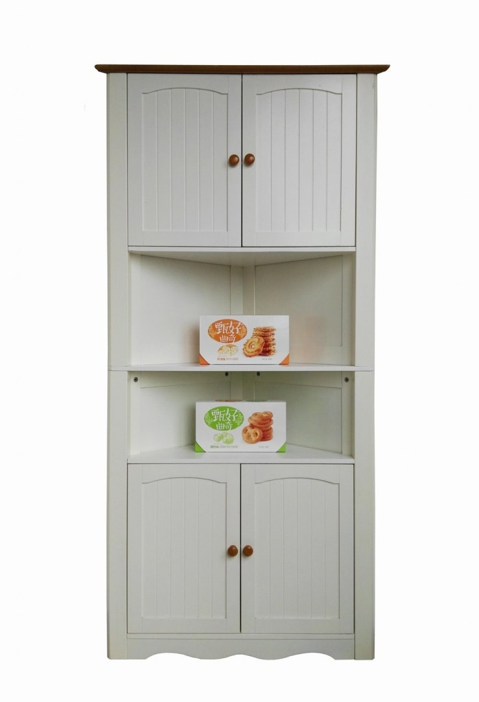 Corner Kitchen Hutch
