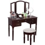 Corner Makeup Table