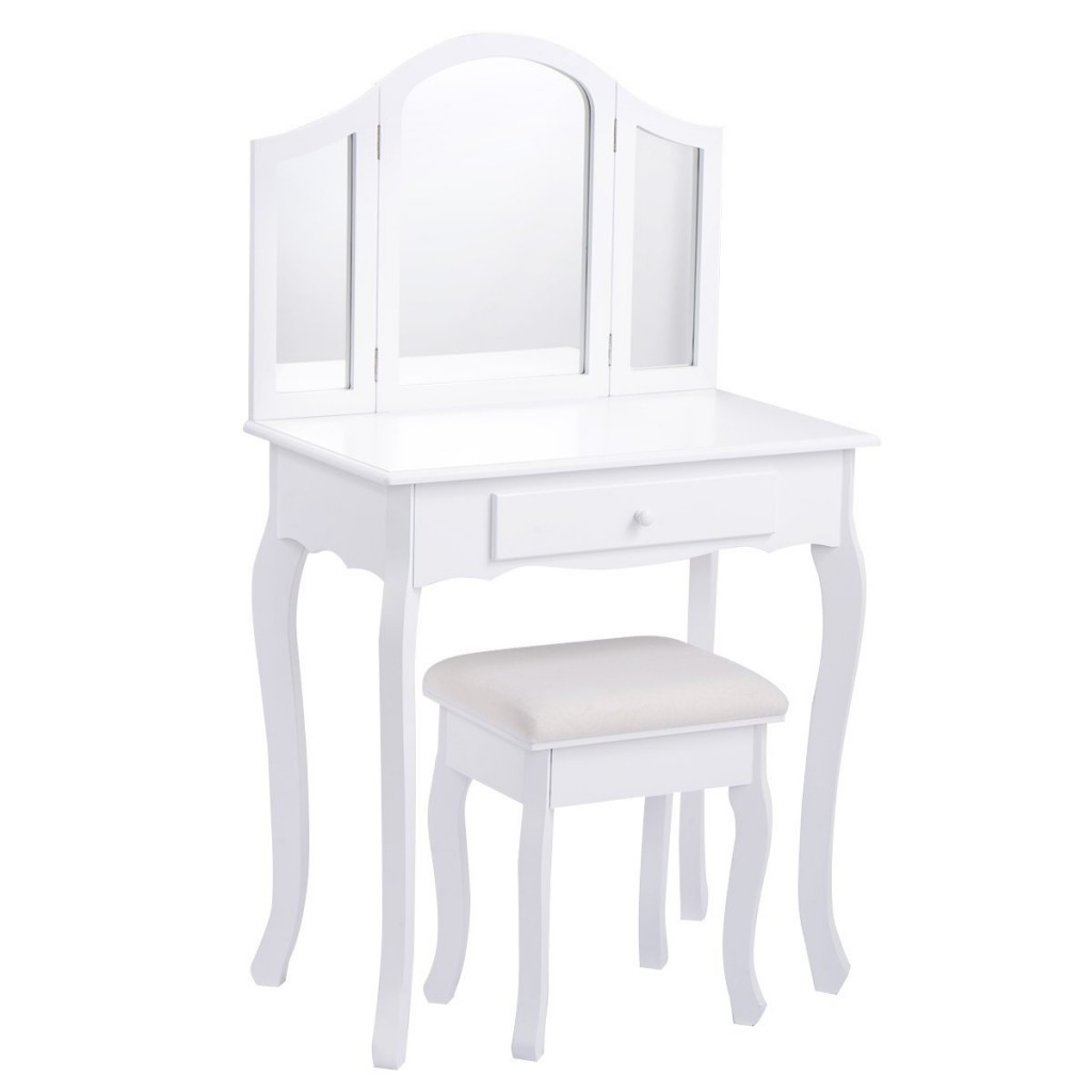 Makeup Table And Chair