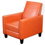 Orange Living Room Chair