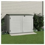 Suncast Horizontal Storage Shed