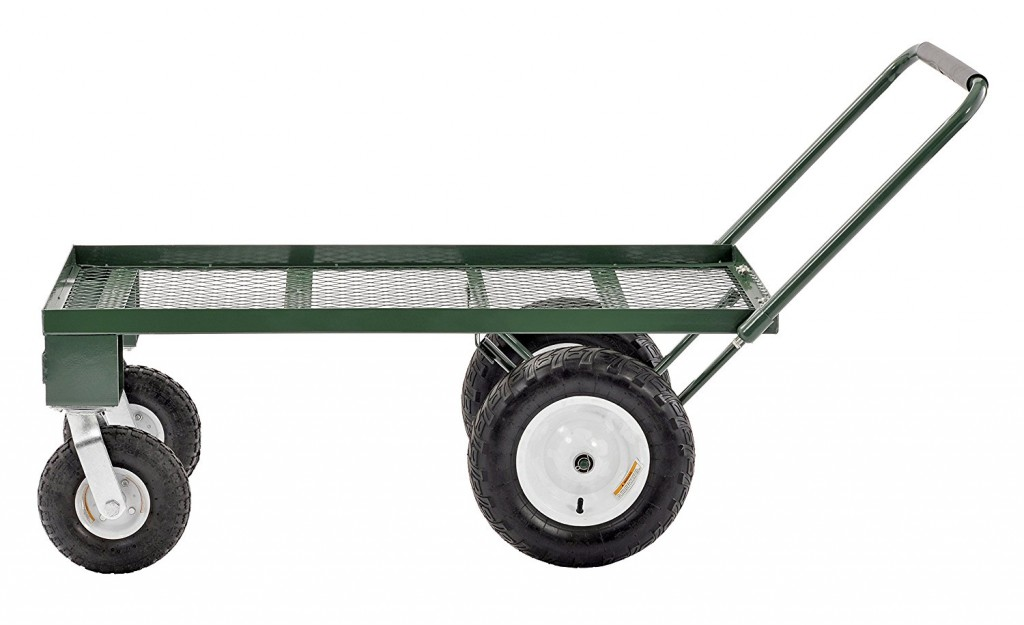 Utility Cart With Pneumatic Wheels
