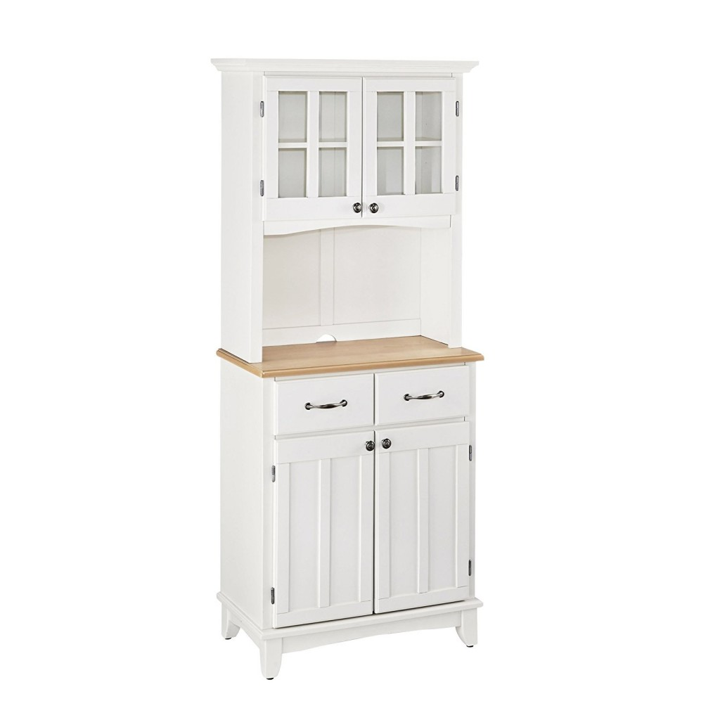 White Buffet And Hutch