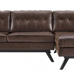 Worn Leather Couch