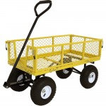 Yellow Garden Wagon