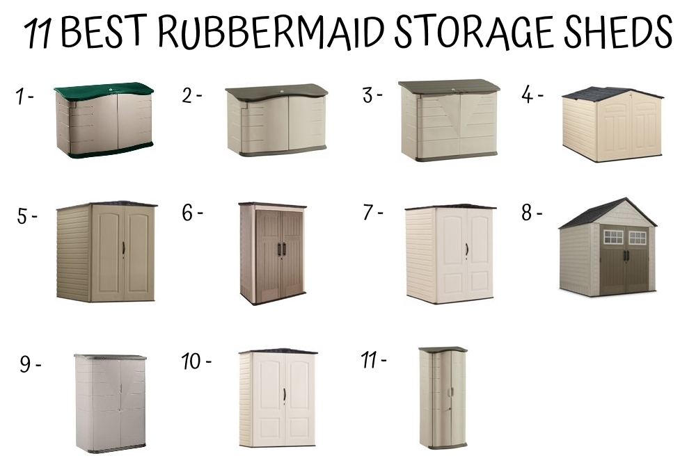 How To Assemble A Rubbermaid Storage Shed Decor