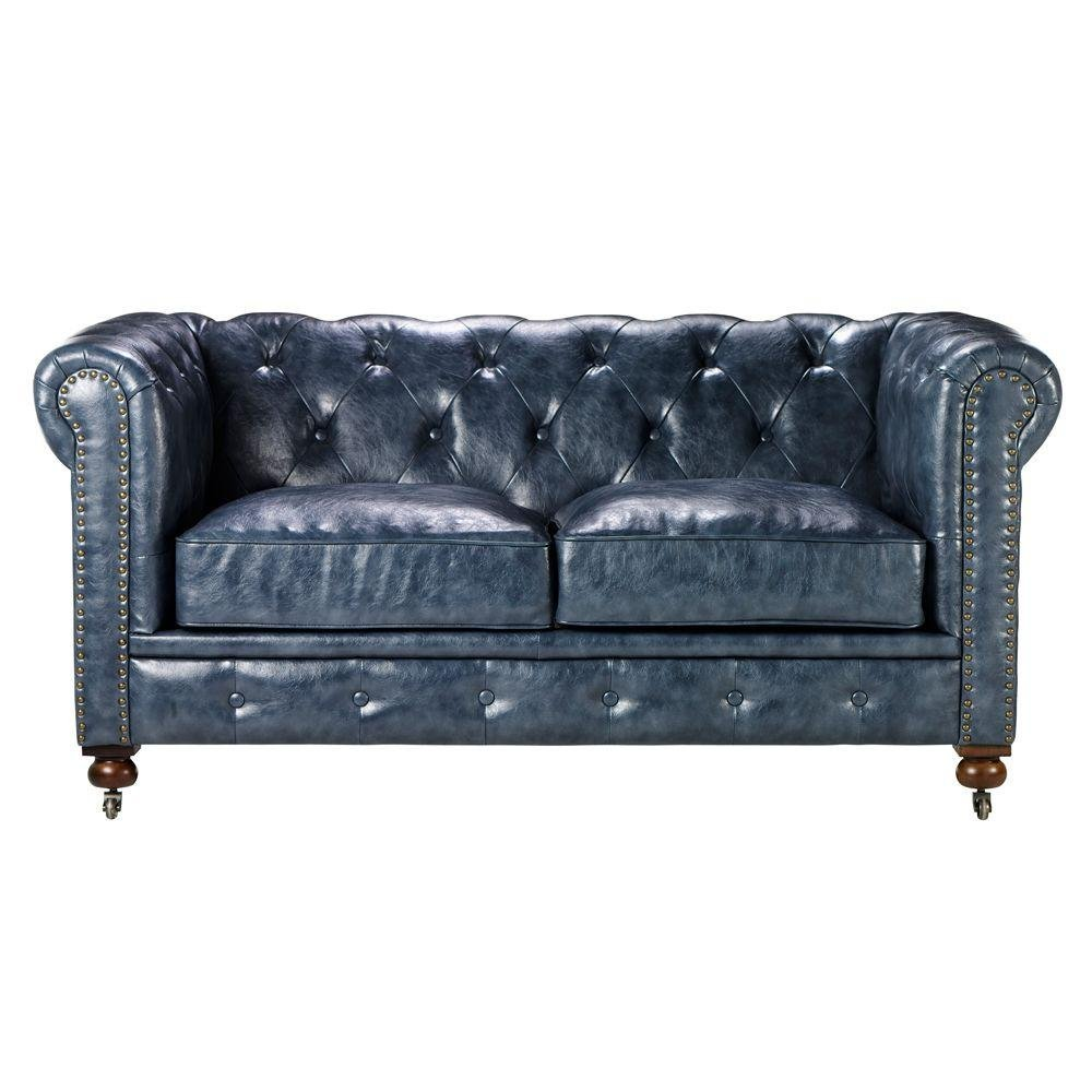Macys Leather Couch
