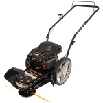 String Trimmer On Wheels