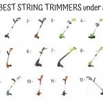 12 Best String Trimmers Under 50$