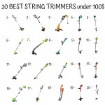 20 Best String Trimmers Under 100$