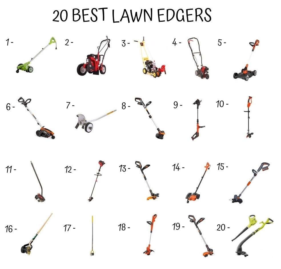 20 Best Lawn Edger