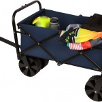 31 Collapsible Folding All Terrain Beach Cart Wagon