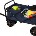 31 Collapsible Folding All Terrain Beach Cart Wagon