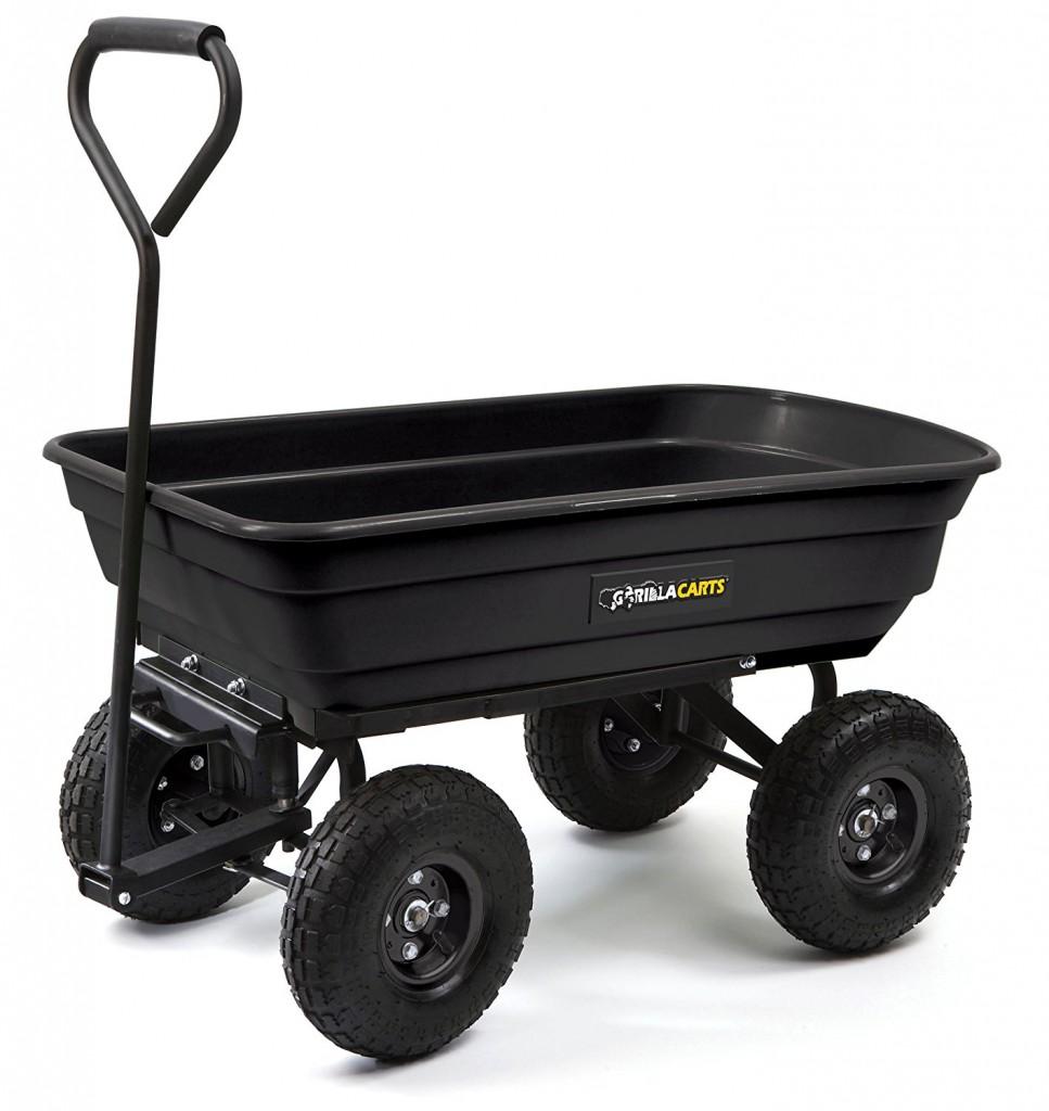 4 Wheel Garden Cart