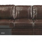 Banner Coffee Color Traditional Classics High Quality Leather Sectional Sofa
