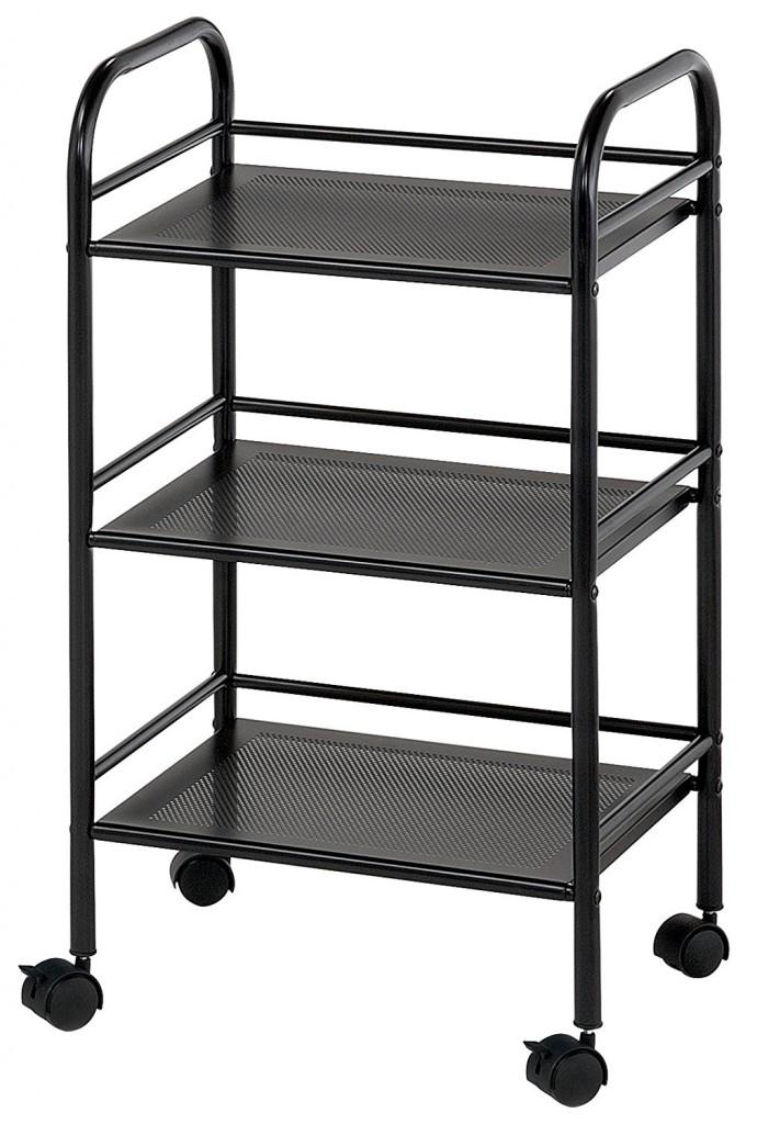 Blue Hills Studio SH3BK Storage Cart