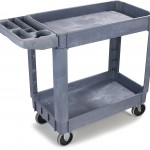 Carlisle UC401823 Small Bin Top Utility Service Cart